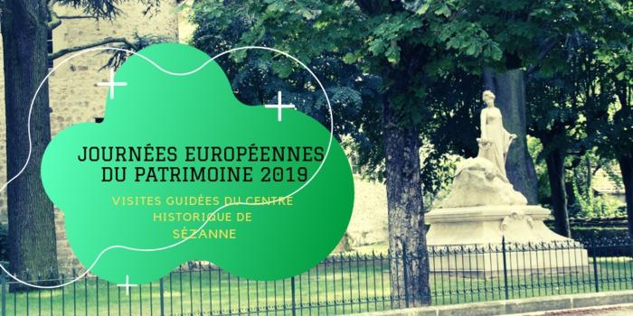 Journées du patrimoine 2019 - Visites guidées du centre historique de Sézanne