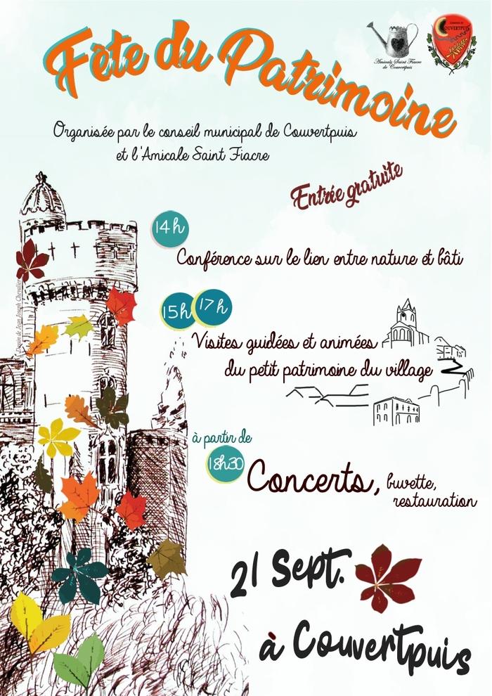 Journées du patrimoine 2019 - Découverte du patrimoine du village