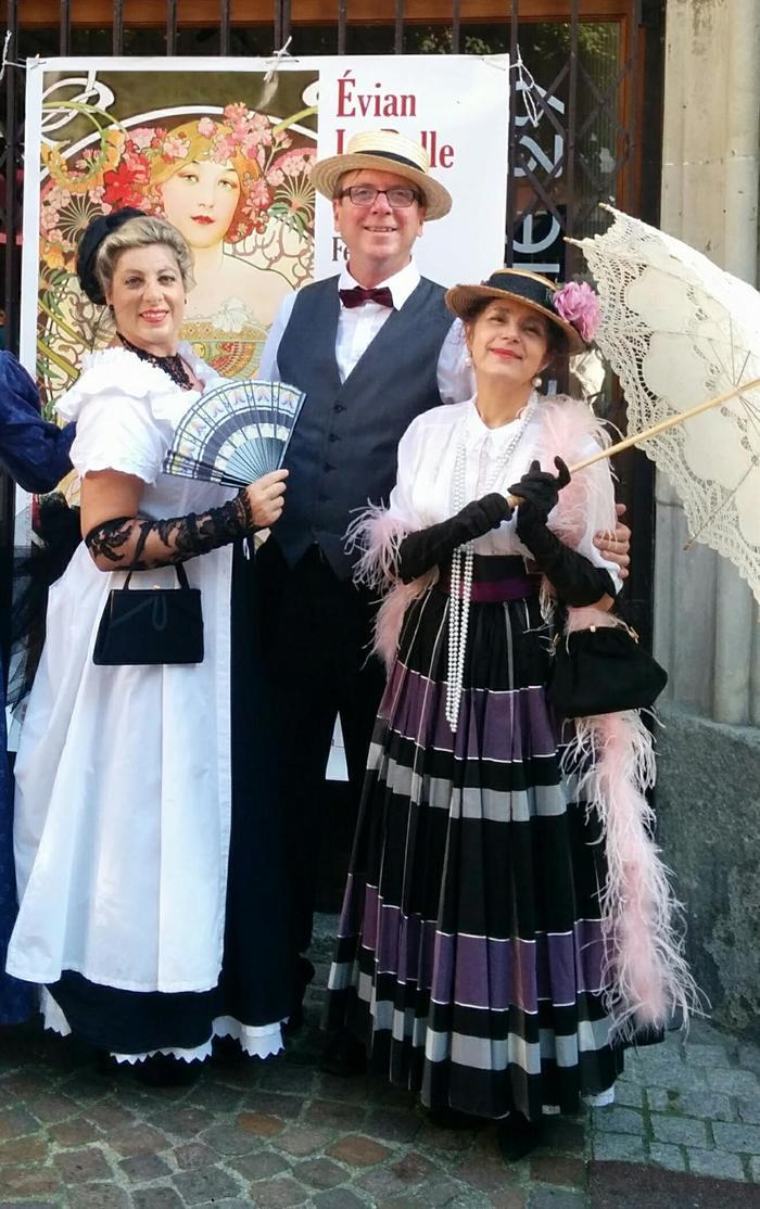 Journées du patrimoine 2019 - Bal 1900 et déambulation Belle époque
