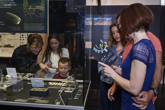 Journées du patrimoine 2020 - Visite des collections du Musée de Préhistoire de Carnac.