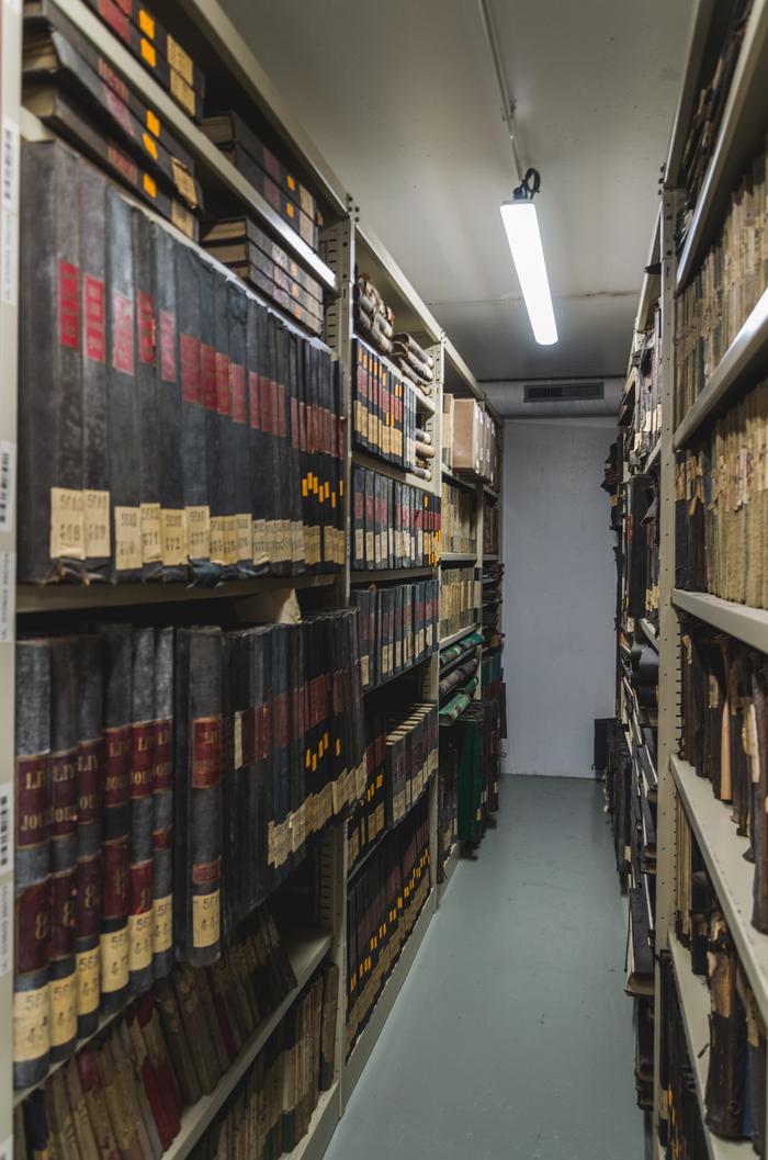 Archives nationales du monde du travail, visite des coulisses