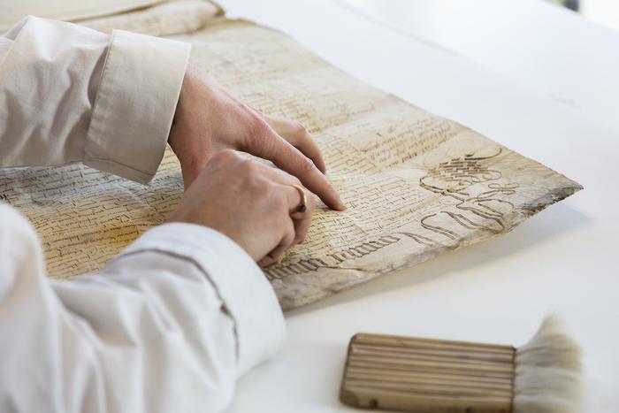 Journées du patrimoine 2019 - La conservation et la restauration d'archives