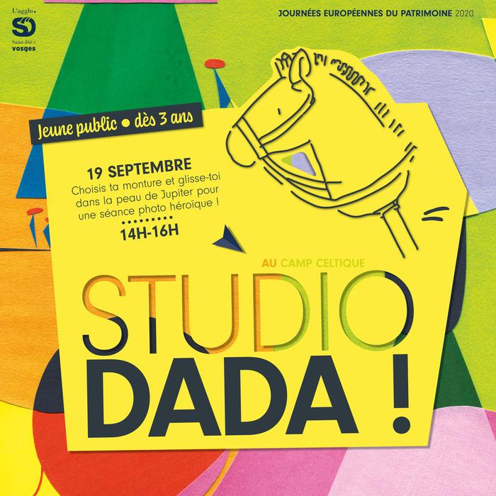 Journées du patrimoine 2020 - Atelier photographique - Studio dada !