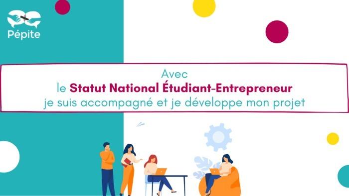 Vous avez une idée que vous souhaitez tester ou développer pendant ou à la suite de vos études ? Candidatez au Statut National Étudiant-Entrepreneur (SNEE) et réalisez votre projet en toute sérénité !