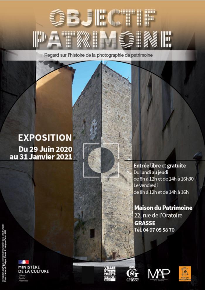 Journées du patrimoine 2020 - Visite guidée de l'exposition Objectif Patrimoine