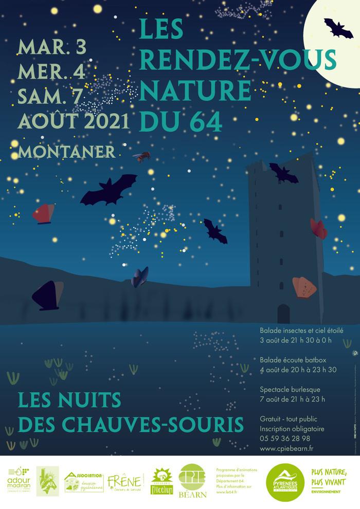 Balade insectes et ciel étoilé avec l'association Frêne