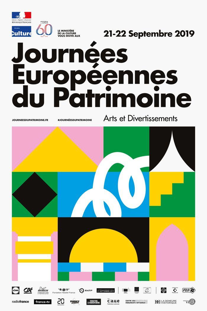 Journées du patrimoine 2019 - Programme du FRAC Bourgogne