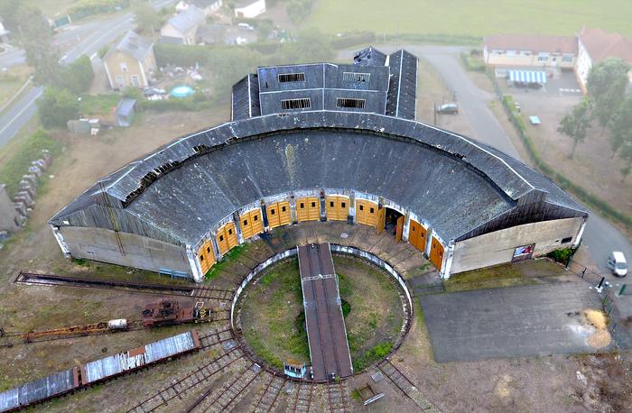 Journées du patrimoine 2020 - Visite rotonde ferroviaire Montabon
