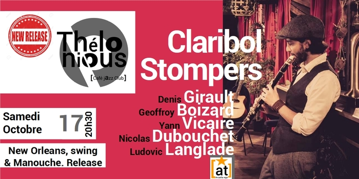 CLARIBOL STOMPERS – THELONIOUS CAFE JAZZ CLUB
