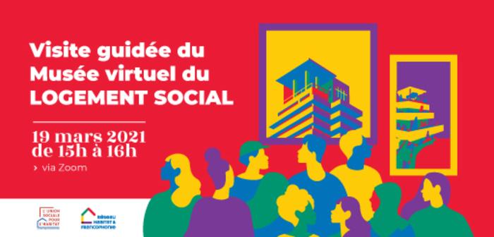 le Réseau Habitat et Francophonie (RHF) organise en partenariat avec l'Union Sociale pour l'Habitat (USH), une visite guidée du Musée virtuel du logement social.