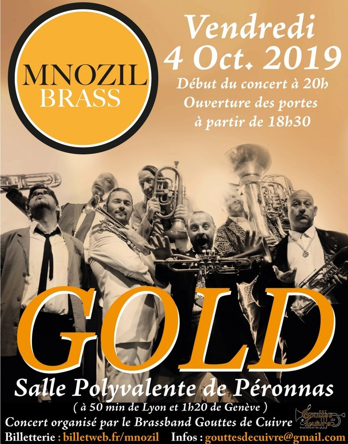 Concert MNOZIL BRASS « Gold The Best Of »