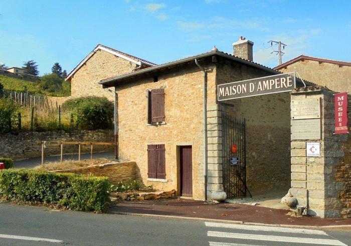 Journées du patrimoine 2019 - Visite de la Maison d'Ampère et du musée de l'électricité