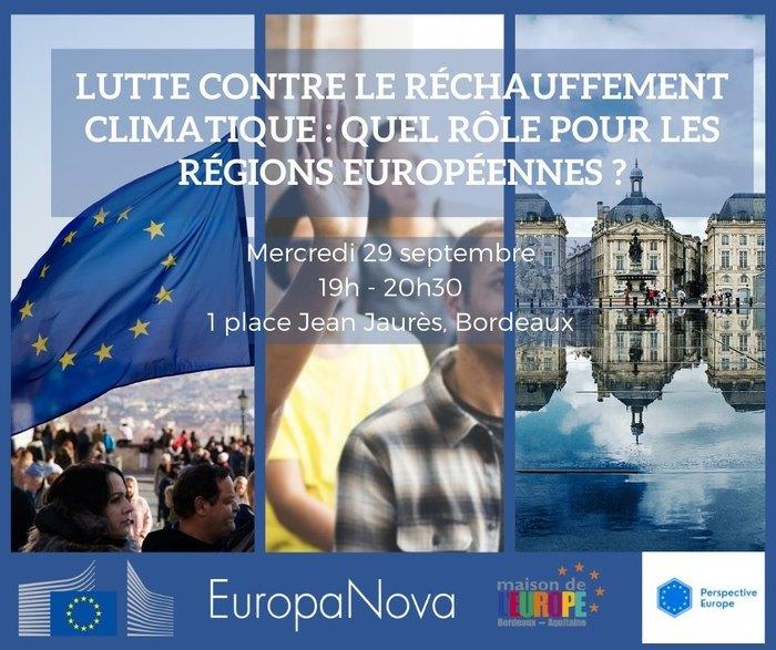 Débat participatif sur le réchauffement climatique et le rôle des régions européennes