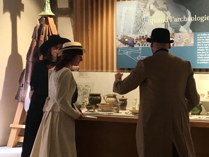 Nuit des musées 2019 -Visite théâtralisée