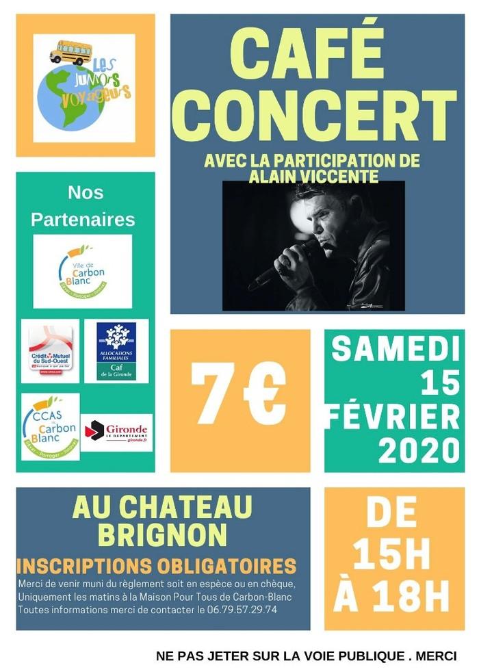 Café-concert par Les Juniors Voyageurs