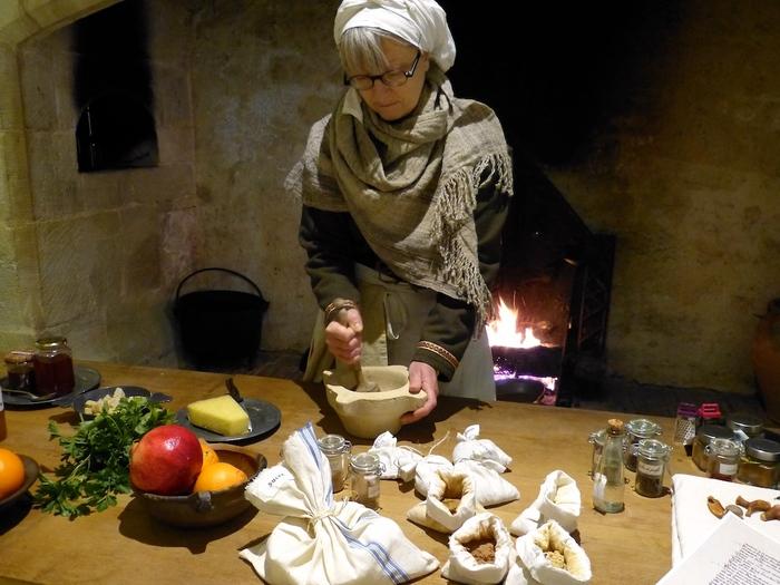 Nuit des musées 2019 -Atelier dégustation autour de la cuisine médiévale