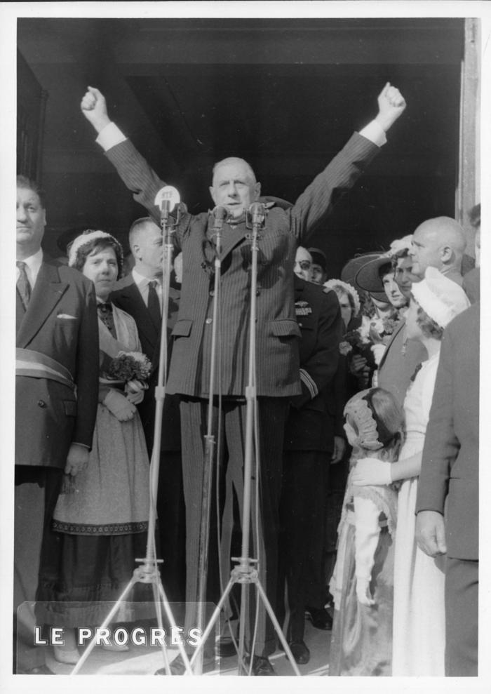 Journées du patrimoine 2020 - Visite guidée de l'exposition « De Gaulle et les départements savoyards, 1940-1965»