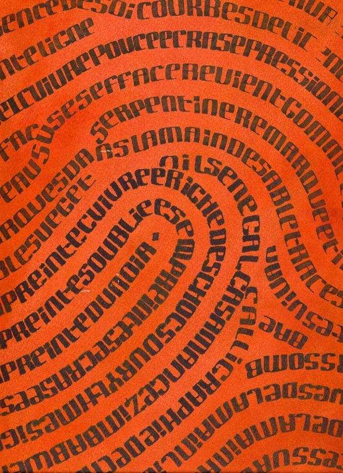Journées du patrimoine 2020 - Démonstrations de calligraphie avec Bernard Vanmalle
