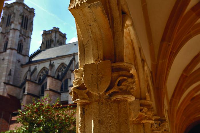 Journées du patrimoine 2020 - Visite libre du cloître de la cathédrale Saint-Vincent