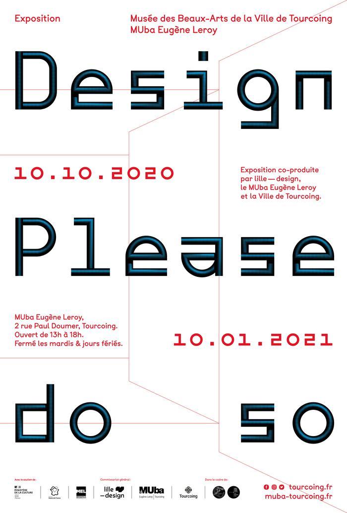 Exposition Design: please do so (prolongation jusqu'au 7 mars 2021)