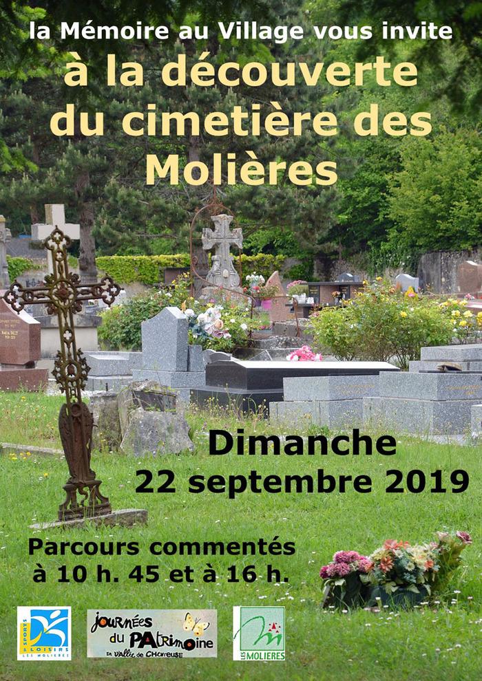 Journées du patrimoine 2019 - À la découverte du cimetière des Molières