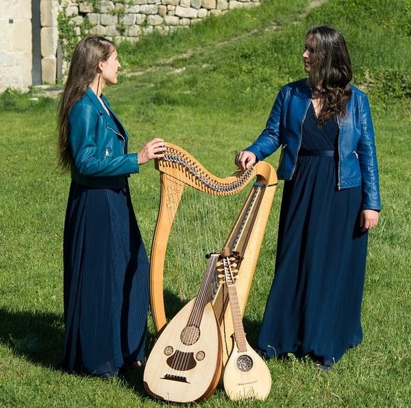 Nuit des musées 2019 -Interludes musicaux par le duo Ishtar, Musiques à Cordes Désorientées