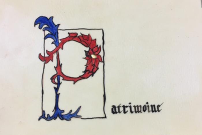 Journées du patrimoine 2020 - Enluminure et calligraphie, atelier pour adulte