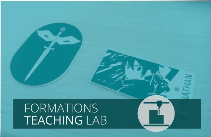 Une formation du Teaching Lab, parcours fabrication niveau 1