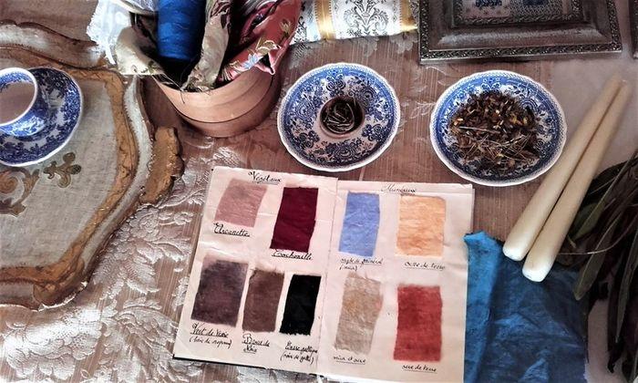 Journées du patrimoine 2020 - Teintures végétales à l'ancienne