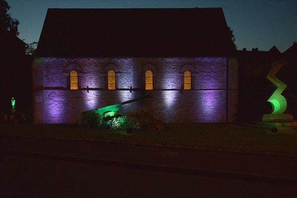 Nuit des musées 2019 -Illuminations du musée de Tilly-sur-Seulles