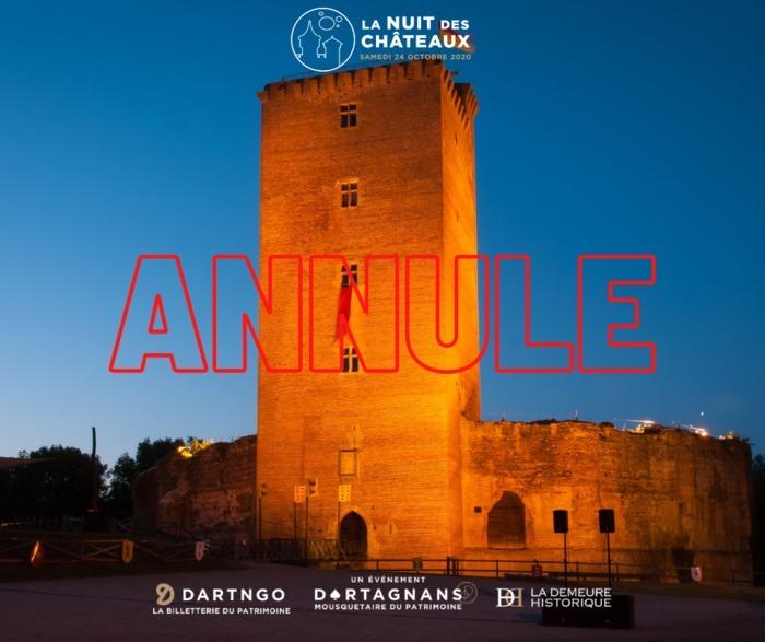 Nuit des châteaux - Soirée médiévale fantastique au Château de Montaner
