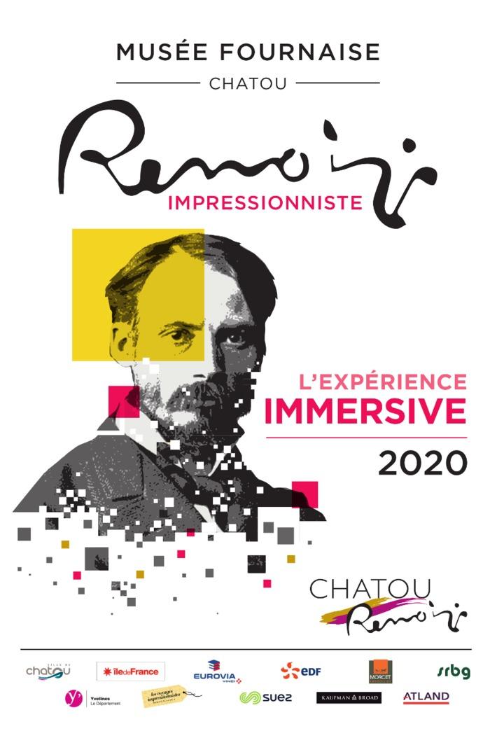 Journées du patrimoine 2020 - Renoir impressionniste, l'Expérience Immersive