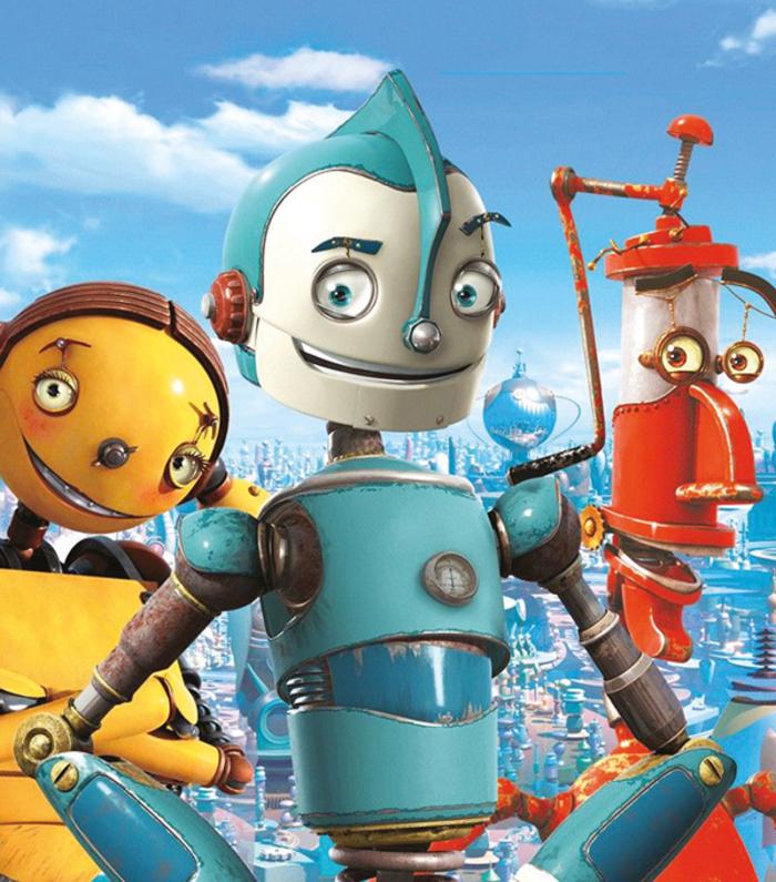 Projection du film Robots