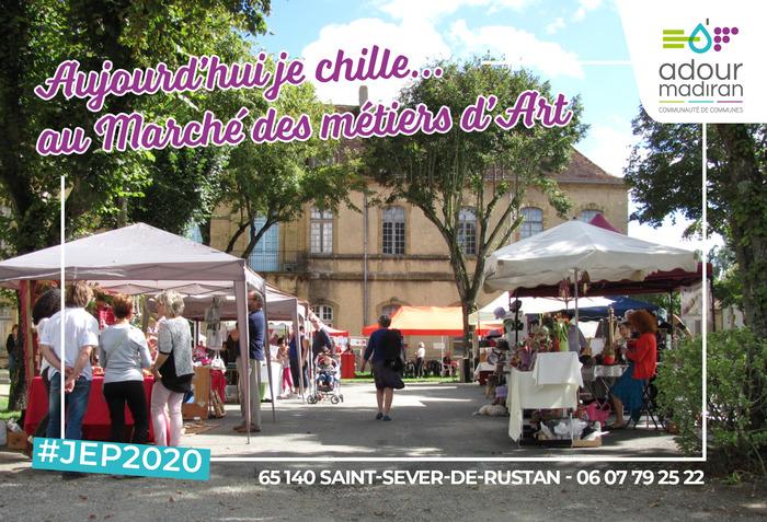 Journées du patrimoine 2020 - Marché des métiers d'art