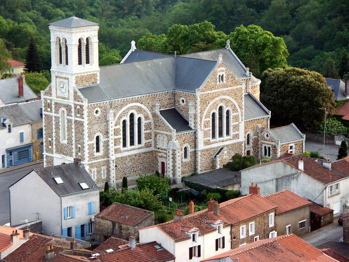 Journées du patrimoine 2020 - Visite de l'église Saint-Martin du Cellier avec présentation du Chemin de Croix.