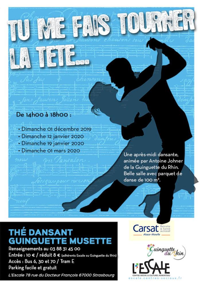 Thé dansant Guinguette Musette