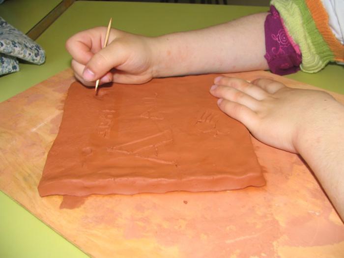 Journées du patrimoine 2020 - Atelier de gravure sur argile !