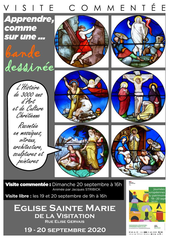 Journées du patrimoine 2020 - Visite Libre / Apprendre, comme sur une Bande Dessinée