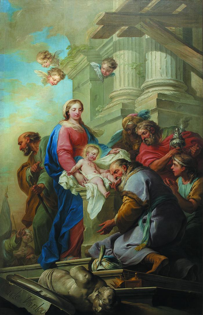 Journées du patrimoine 2019 - Visite commentée à l'église Notre-Dame de l'Assomption du tableau de Carle Van Loo