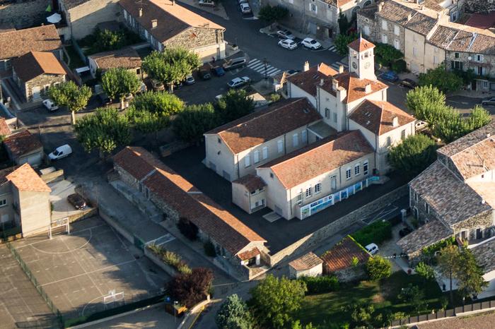 Journées du patrimoine 2020 - La Mairie-École d'Alba-la-Romaine
