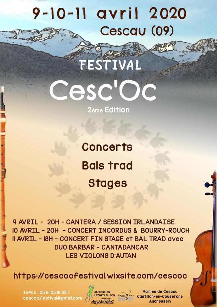 [ANNULE]  <strike>Festival Cesc'Oc</strike>
