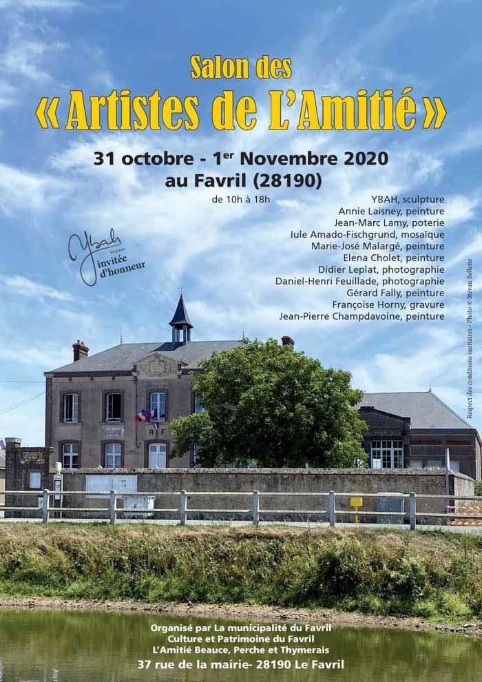 Le Favril : Salon des artistes de l'Amitié les 31/10 et 1er/11/2020