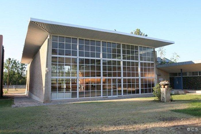 Journées du patrimoine 2019 - Présentation de l'Oeuvre de l'architecte Fernand POUILLON à travers le Gymnase du CREPS.