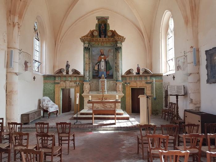 Journées du patrimoine 2019 - Visite libre église Saint Martin de Bonnard