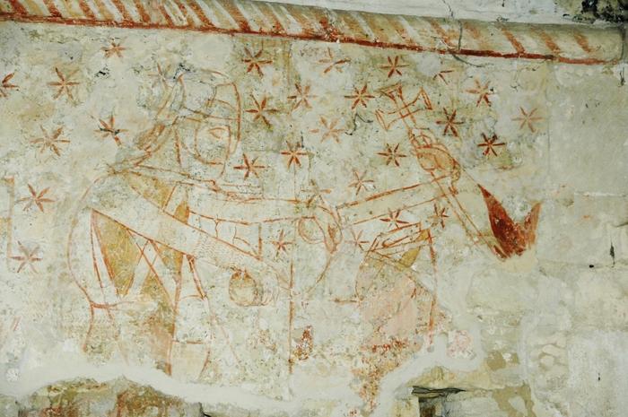 Journées du patrimoine 2019 - Visite guidée de la chapelle Sainte-Marie-aux-Anglais : univers d'images du XIIIsiècle