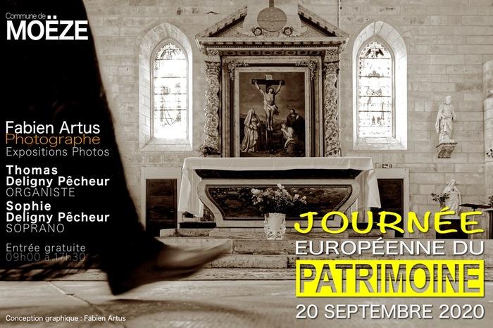 Journées du patrimoine 2020 - Exposition photo et musique à l'église