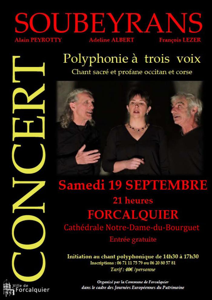 Journées du patrimoine 2020 - Chants polyphoniques