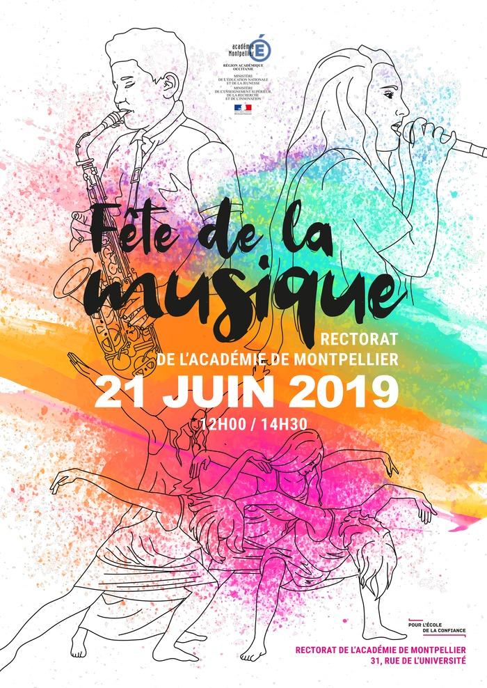 Fête de la musique 2019 - 3ème concert des élèves de l'académie de Montpellier