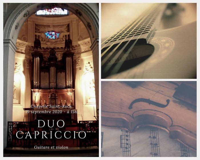 Journées du patrimoine 2020 - Animation musicale avec le Duo Capriccio