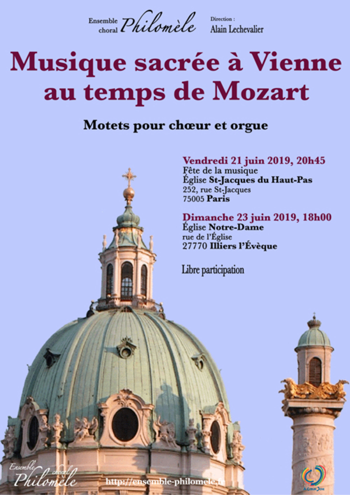 Fête de la musique 2019 - Musique sacrée à Vienne au temps de Mozart